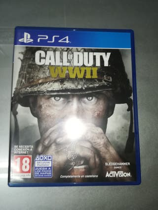 JUEGO PS4 CALL OF DUTTY WWII