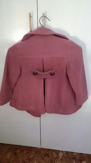 chaqueta de paño para niña