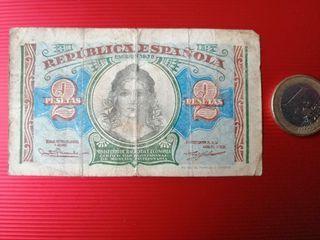BILLETE 2 PESETAS 1938