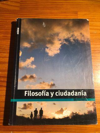 Libro Filosofía y Ciudadanía Bachillerato