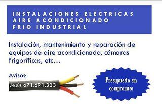 Instalaciones eléctricas y Climatización