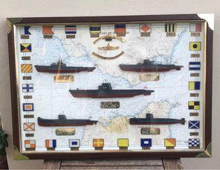 Cuadro submarinos españoles