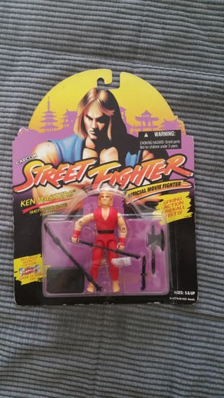 Ken masters spring action Street Fighter