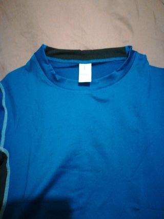 camiseta de fitness