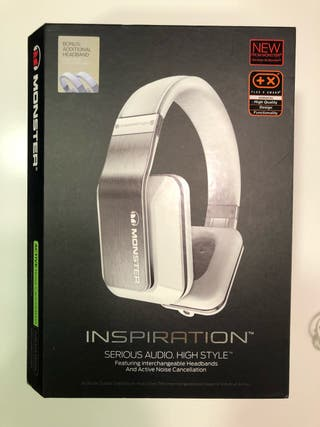 Auriculares Monster Inspiration blancos