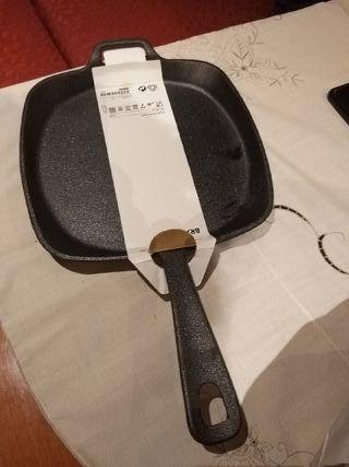 Sartén de hierro fundido Ikea