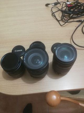 objetivos canon 18_55 y sigma 18_200