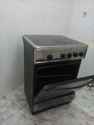 cocina vitroceramica y horno electrico
