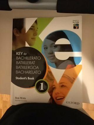 Libro Key to bachillerato 1 Student's book