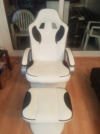 silla gamer ps4 reclinable
