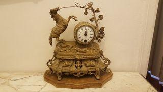reloj antiguo de bronce del siglo XIX