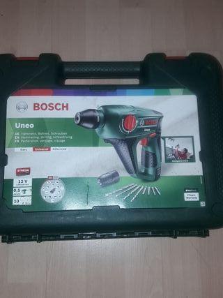 taladro perforador martillo Bosch uneo 12 voltios