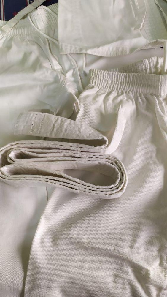 ropa de karate