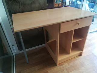 escritorio con cajón