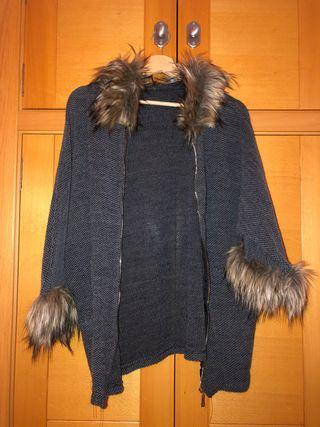 Chaqueta abrigo pelo