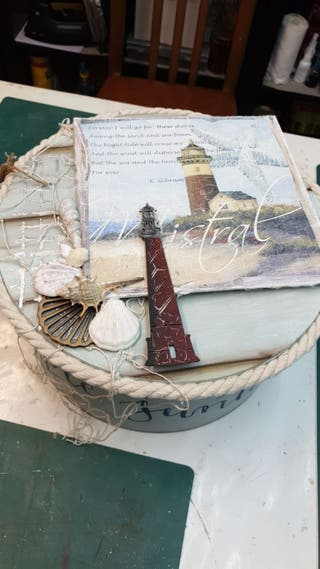 Caja personalizada marinera
