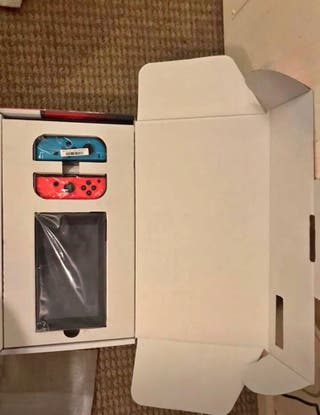 Nintendo switch £100