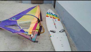 Vendo equipo de windsurf