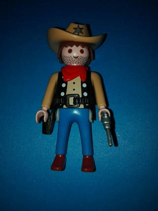 Playmobil ayudante sheriff oeste pistolero vaquero