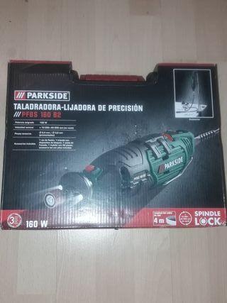 taladro lijadora de precisión Parkside