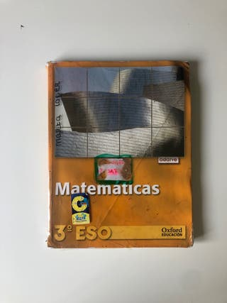 Libro 3 eso Matemática