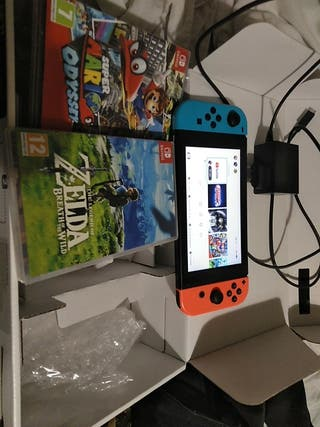 Nintendo switch como nueva