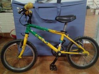 bicicleta Orbea talla 4-5-6 años