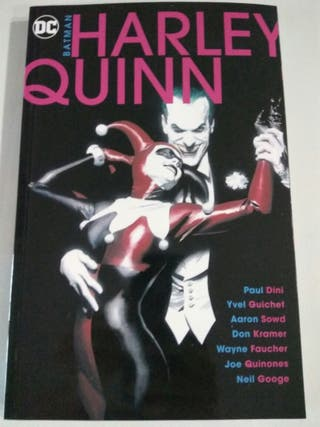 Comic Harley Quinn novela gráfica DC nuevo