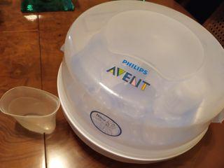 Esterilizador para microondas Avent
