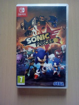 Sonic Force Nintendo switch