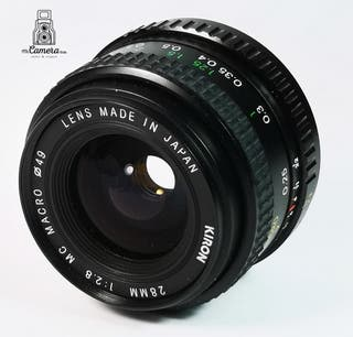 Objetivo para pentax 28 mm2.8 montura K