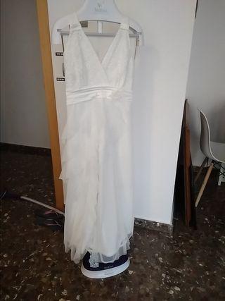 vestido novia ibicenco