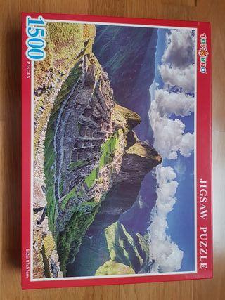 Puzzle 1500 piezas Machu Picchu