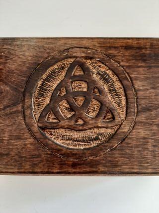 Joyero Caja decoración trisquel witch embrujadas