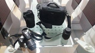 Cámara de fotos Nikon D5000