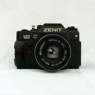 CAMARA ANALOGICA ZENIT 122+58mm f1:2 HELIOS