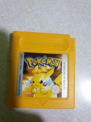 Cartuchos Originales de Pokemon Rojo y Amarillo