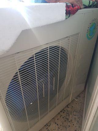 2 máquinas de aire acondicionado industrial