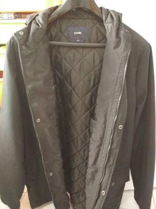 cazadora Parka con capucha para hombre XXL