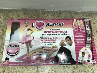 Alfombra interactiva I Love Dance