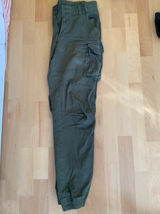 Pantalones militares verdes