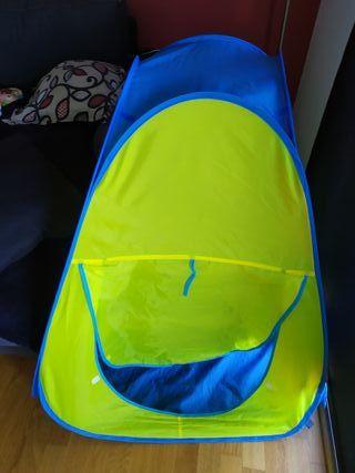 tienda de campaña bebes y mini piscina