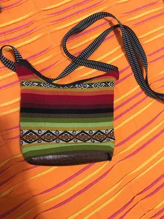Bolso bandolera multicolor