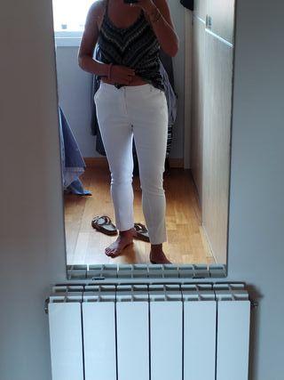 pantalón blanco nuevo!!!