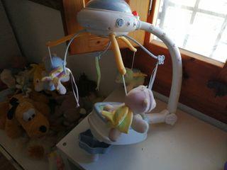 móvil ositos voladores bebé fisher price