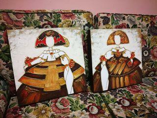 2 cuadros meninas