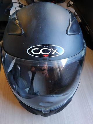 casco Cox Modular y funda