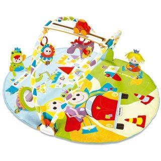manta de juego y gimnasia para bebés imaginarium