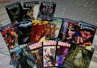 Lote Cómics DC y Marvel