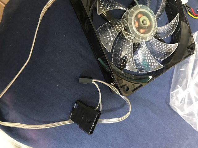 Ventilador led pc 120mm